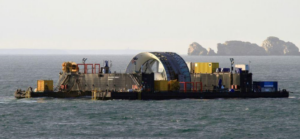 underwater energy farm in Bretagne