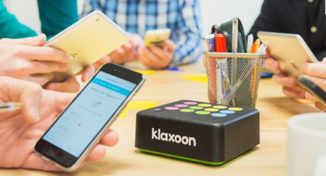 Klaxoon live interactivity box
