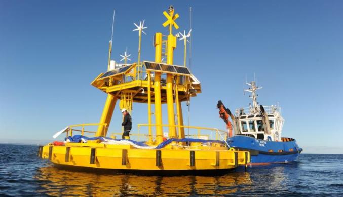 Nass&wind floating wind turbine