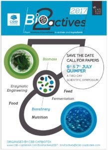 Bio2actives, the symposium valorising biomass and biorefinery into actives and ingredients