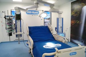 Hill-Rom customer experience center, Intensive Care Unit. Photo credit : Hill-Rom