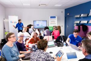 Google Ateliers Numériques Photo credit : CCI Ouest Normandie