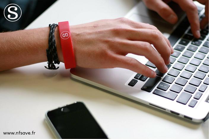 NFsave medical bracelet