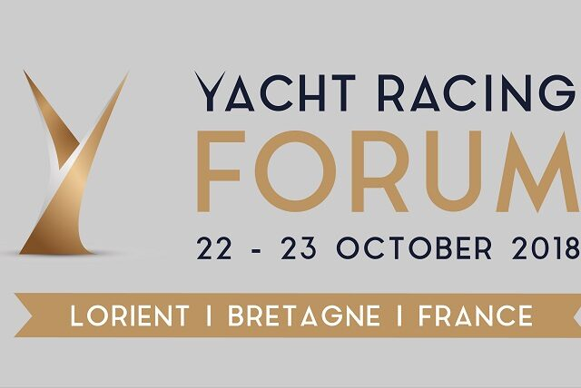Yacht Racing Forum, 22-23 October 2018, Lorient - France