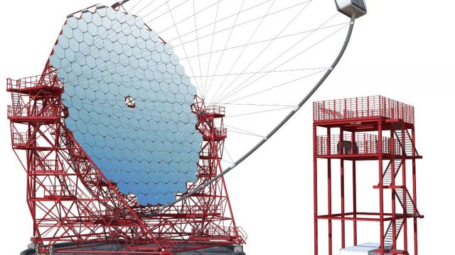 Lorima delivered the arch of the gamma telescope