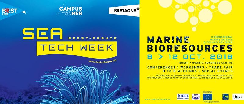 Sea Tech Week, 8-12 October 2018, Brest