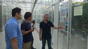 A Korean company visiting potential partners in Bretagne.