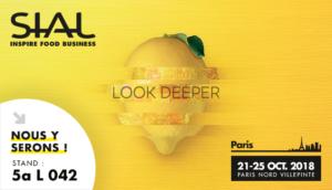 Sial Paris, 21-25 Octobre 2018, Stand 5a L042