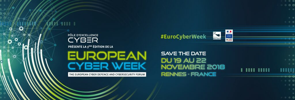 European Cyber Week, 19-22 novembre 2018, Rennes
