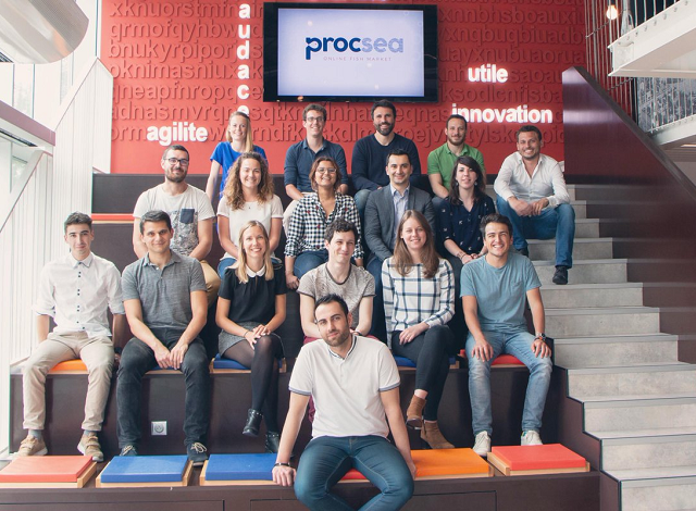 Procsea team based in Rennes.