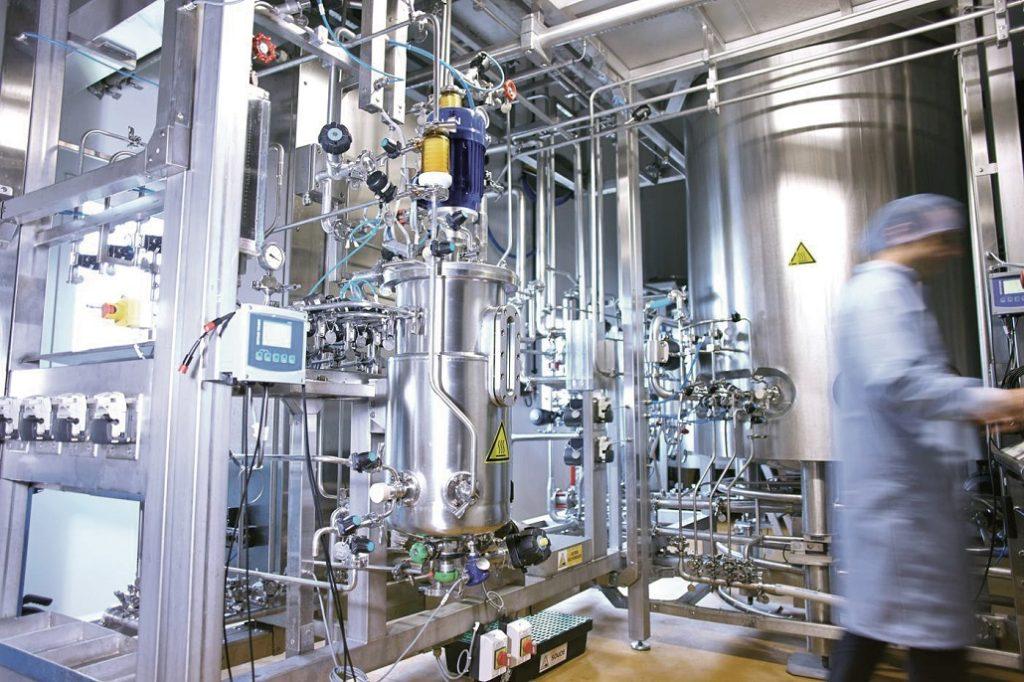 Fermenteur au sein de l'entreprise CODIF. Crédit Photo : CODIF