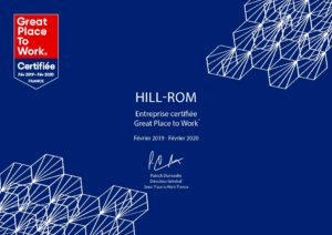 HILL-ROM - GPTW Certification, Diplome