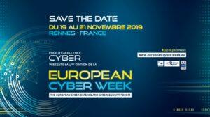 Cyber Week, 19-21 Nov. 2019, Rennes
