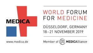 Medica 2019, the world forum for medicine @ Düsseldorf Exhibition Centre, Am Staad, D-40474 Düsseldorf