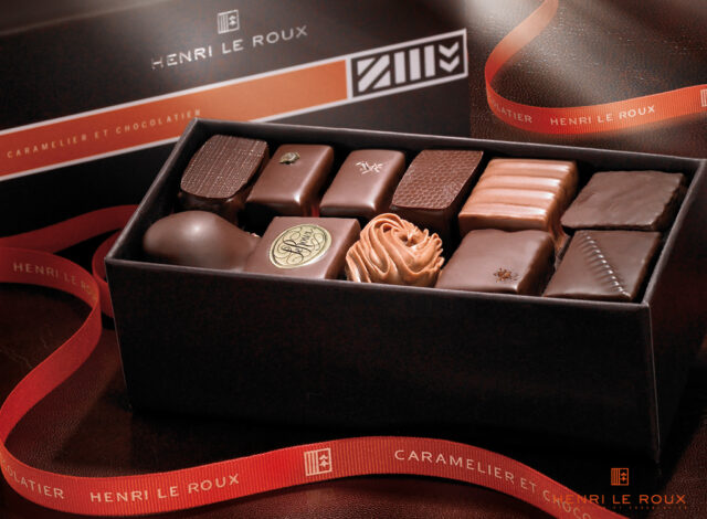 Henri Le Roux - Coffret de chocolats